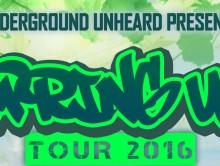 Underground Unheard Newsletter [008] 3/13/16
