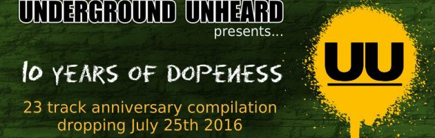Underground Unheard Newsletter [010] 6/23/16