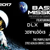 """Bass Mission"" w/ DLX, Skitch & Dirty Looks @ The Purple Buffalo – Charleston SC."
