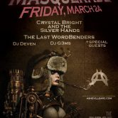 AARC NeoVictorian Masquerade w/ Last Wordbenders, DJ Whistleblower, DJ Gems, Crystal Bright & more! @ The Ridge Room [New Mountain] Asheville NC.