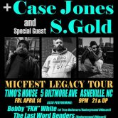 Micfest Legacy Tour w/ Poe Mack, Bobby FKN White and LWB @ Timo's House, Asheville NC