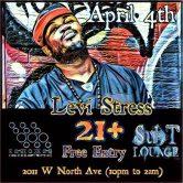 Levi Stress @ Sub T Lounge – Chicago Ill.
